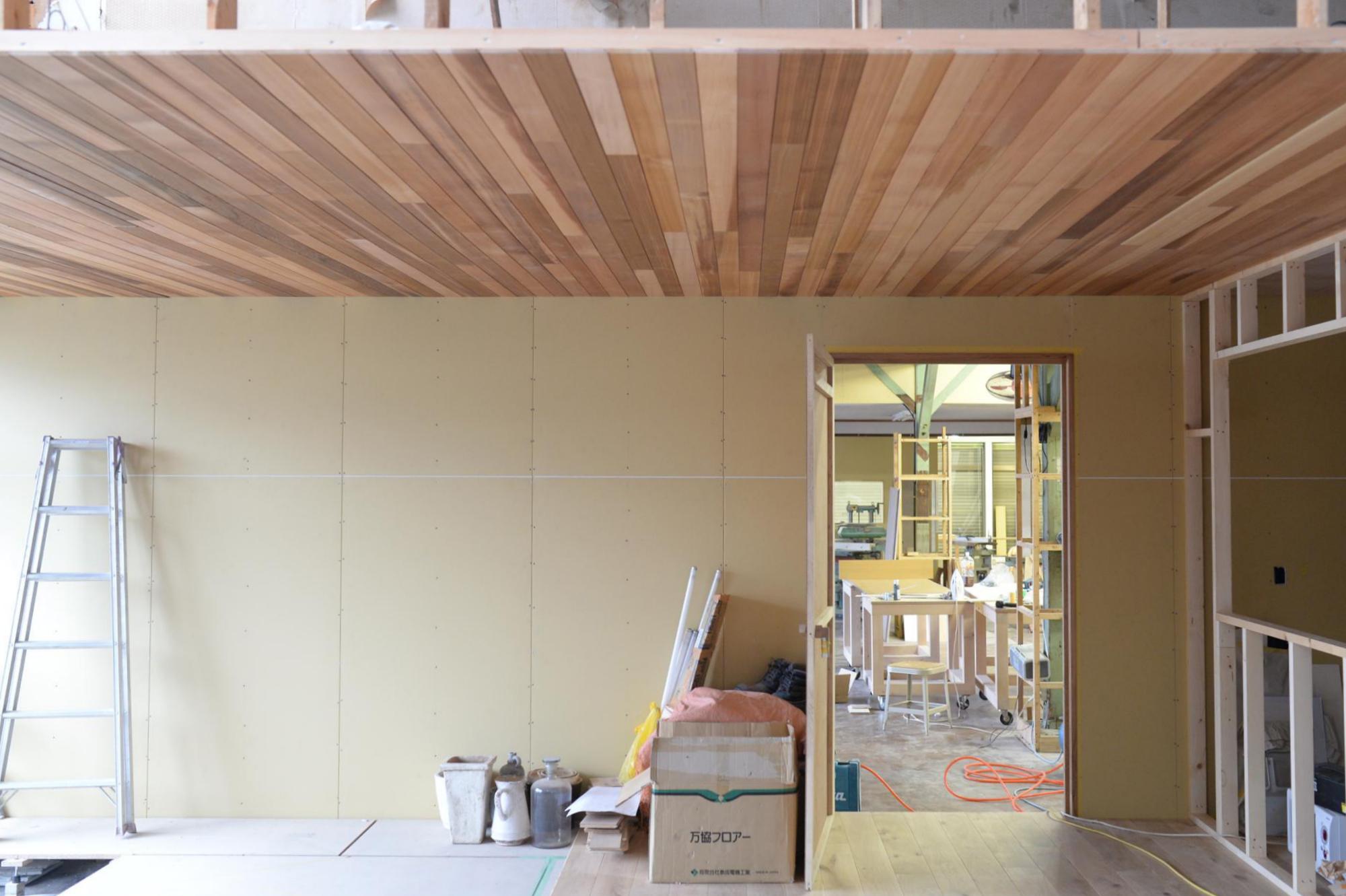 天井 板張り