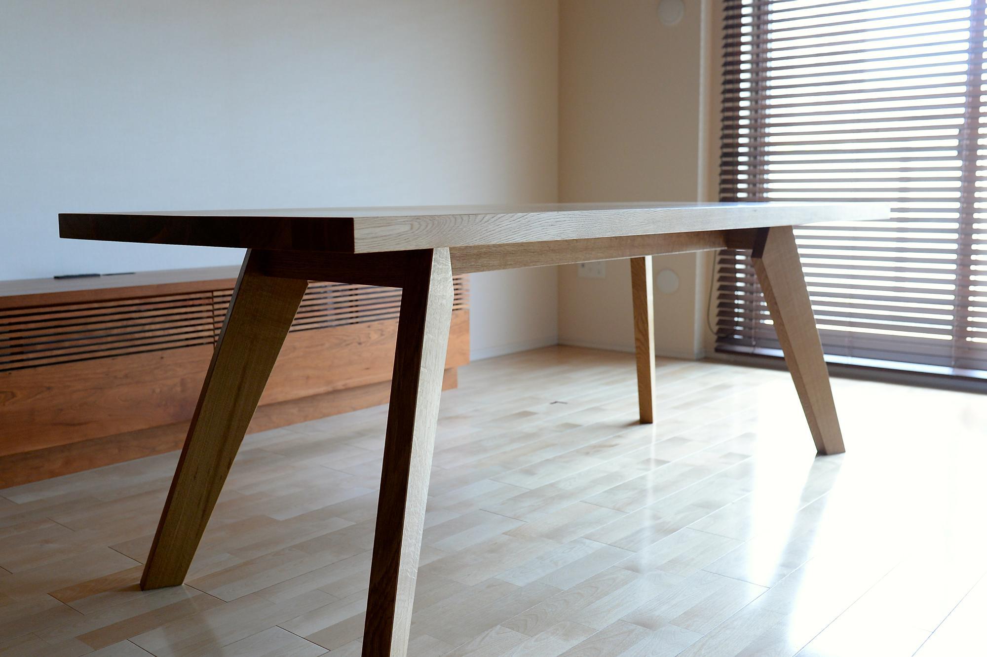 ダイニングテーブル オーダー ダイニングセット ナラ 楢 オーク