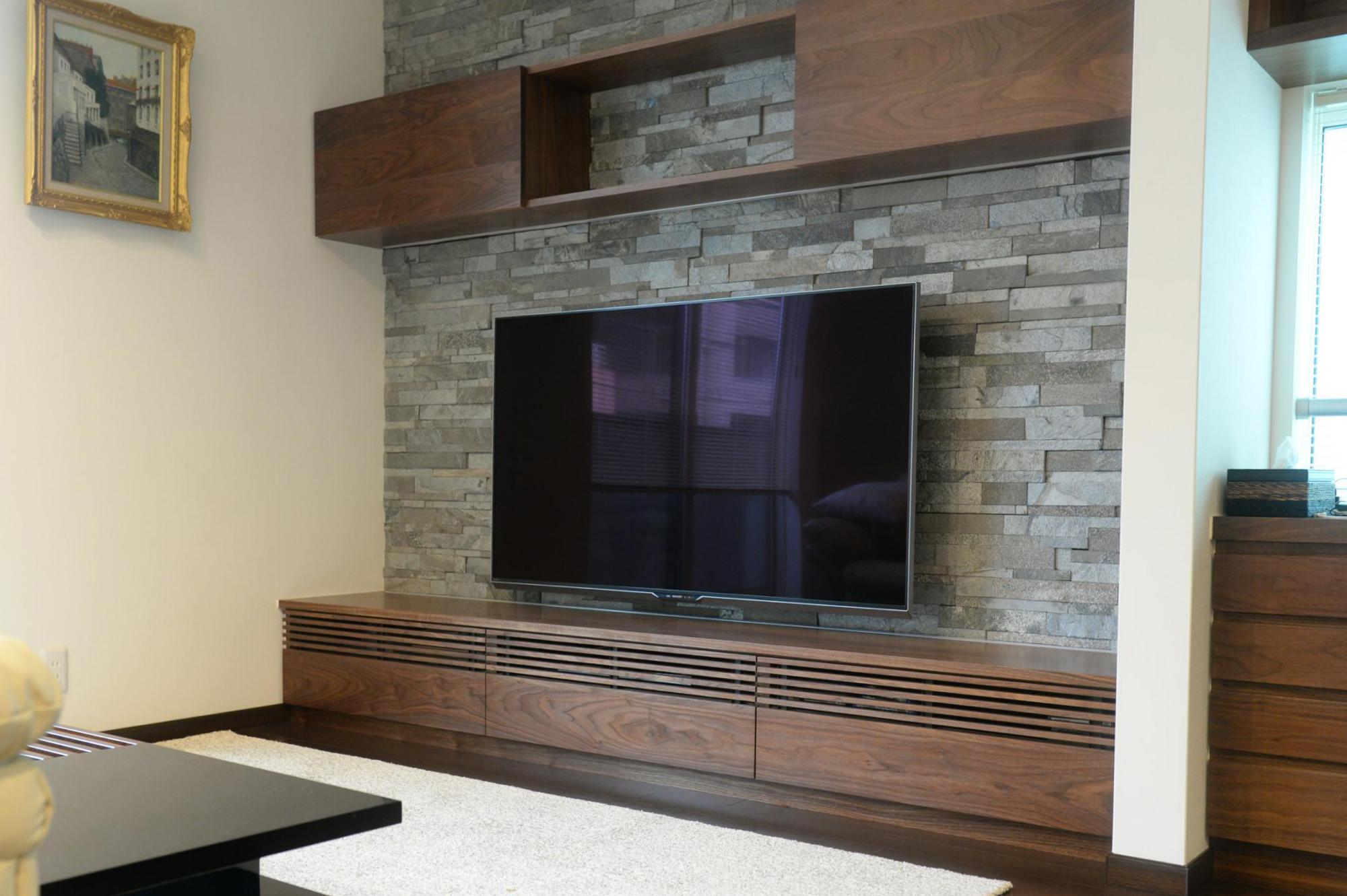 ウォールナット テレビボード オーダー家具