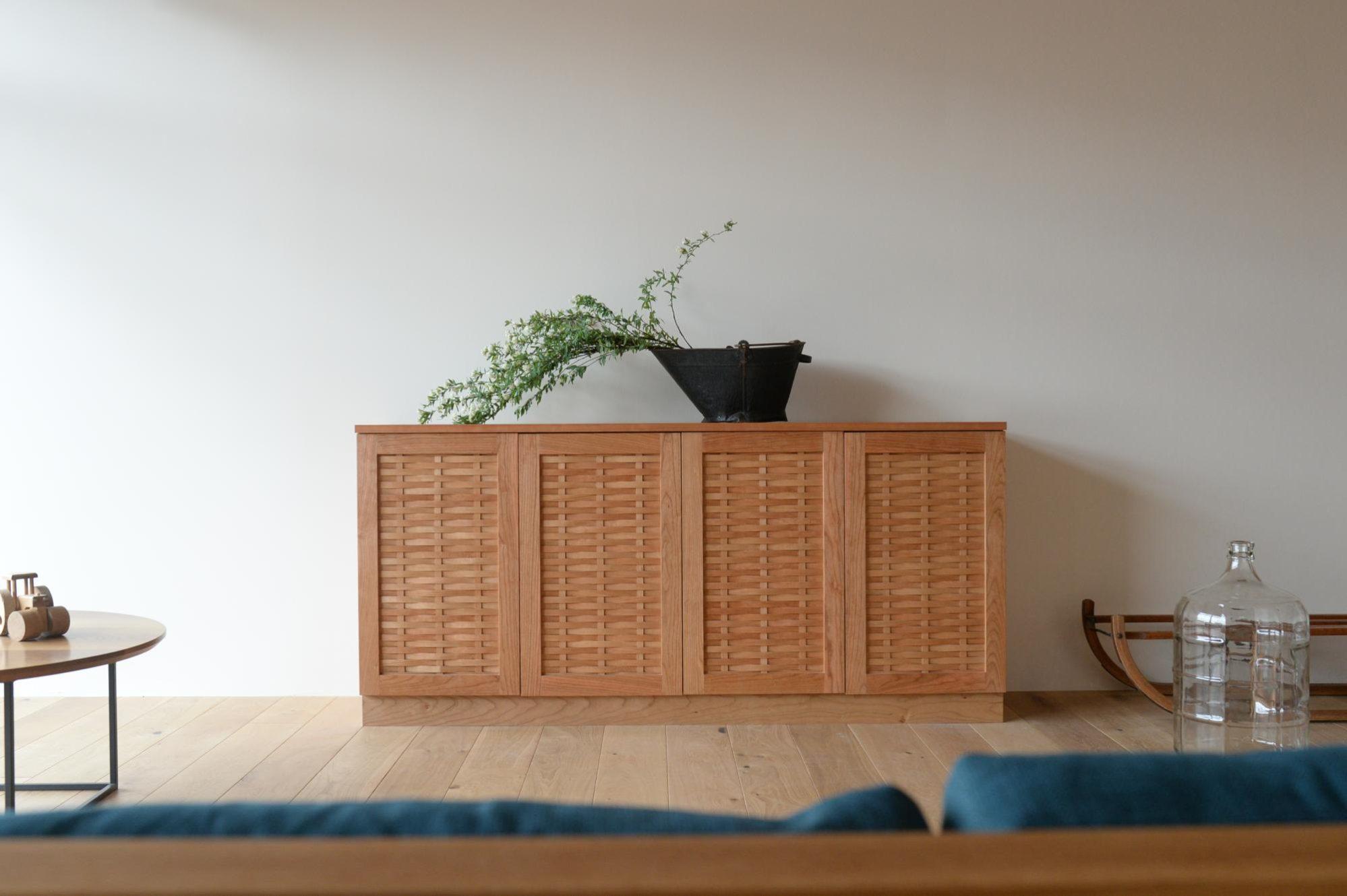 オーダー家具 チェリー材 サイドボード チェスト
