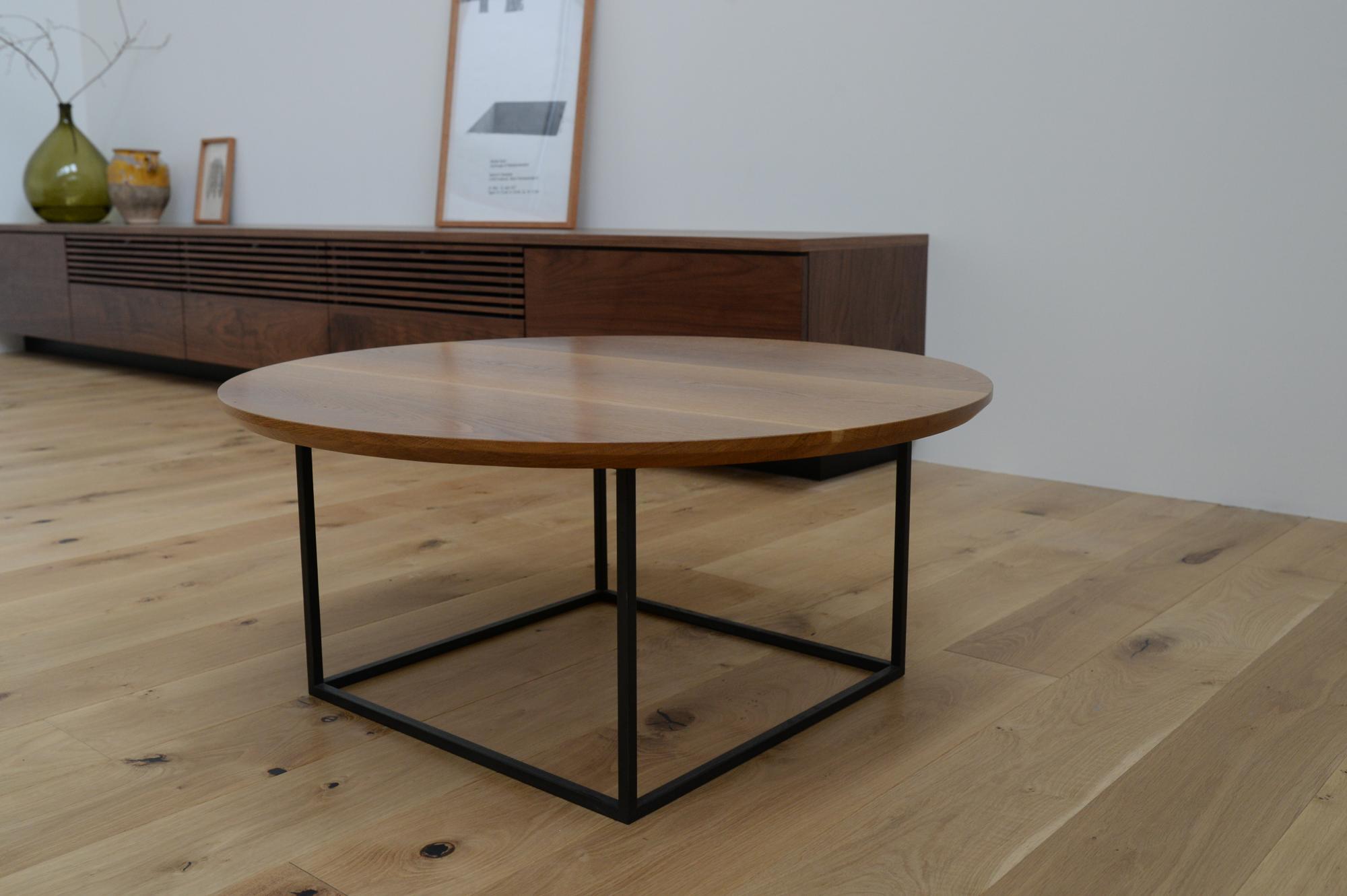 ローテーブル ロウテーブル 無垢材 オーク オーダー家具 サイドテーブル