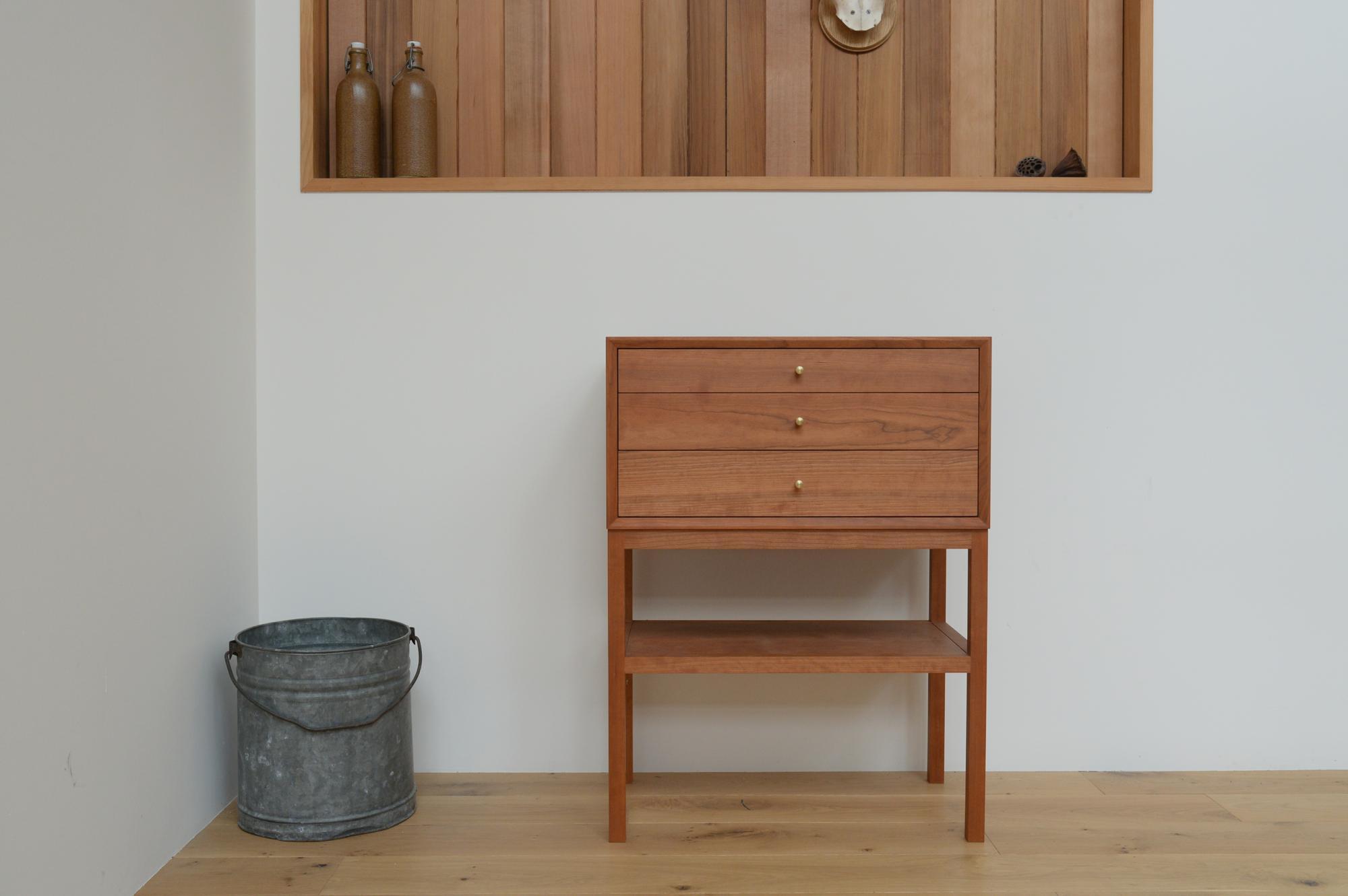 コンソールチェスト 無垢材 オーダー家具