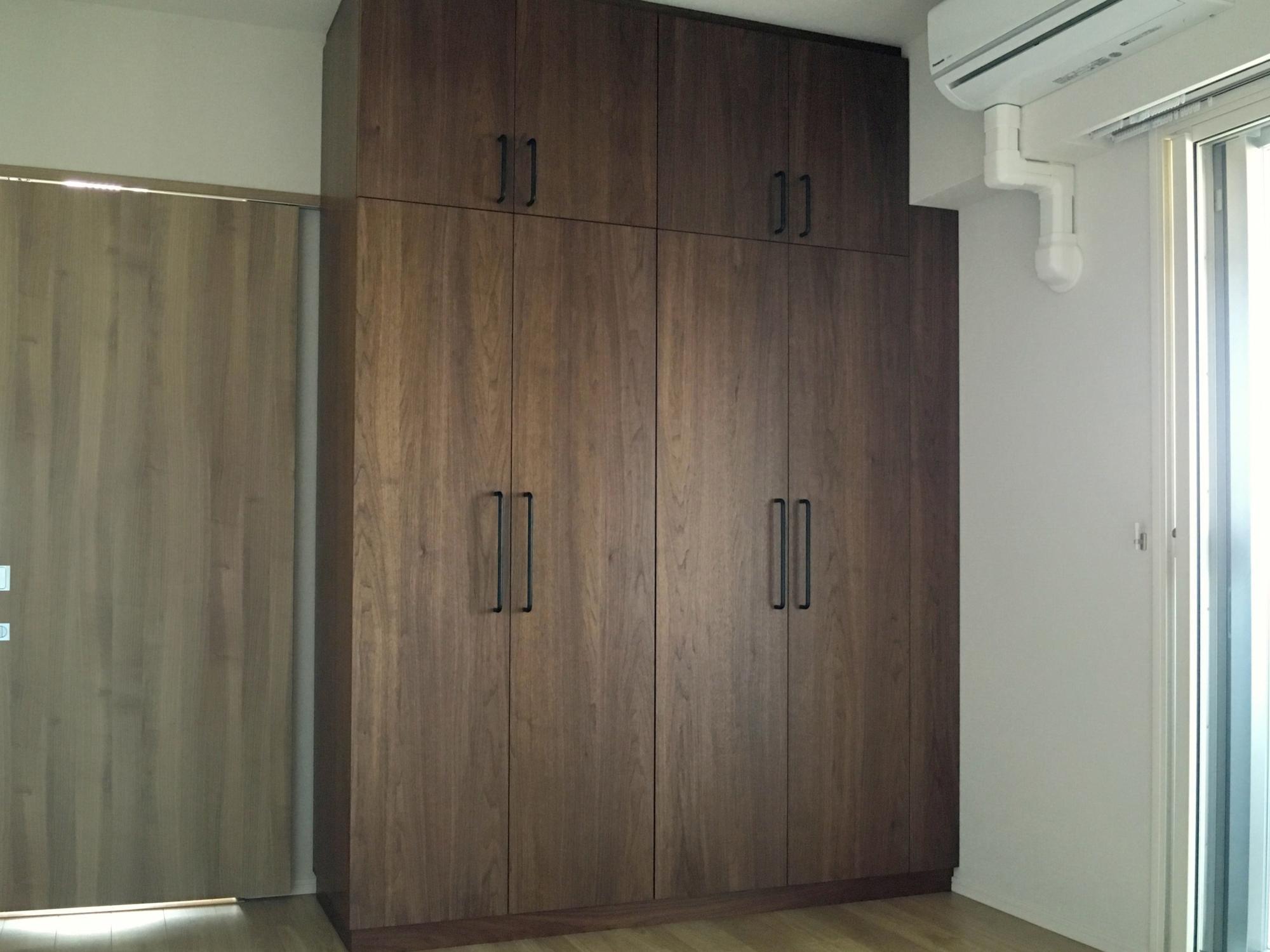 オーダー家具 オプション家具 ワードローブ ウォールナット