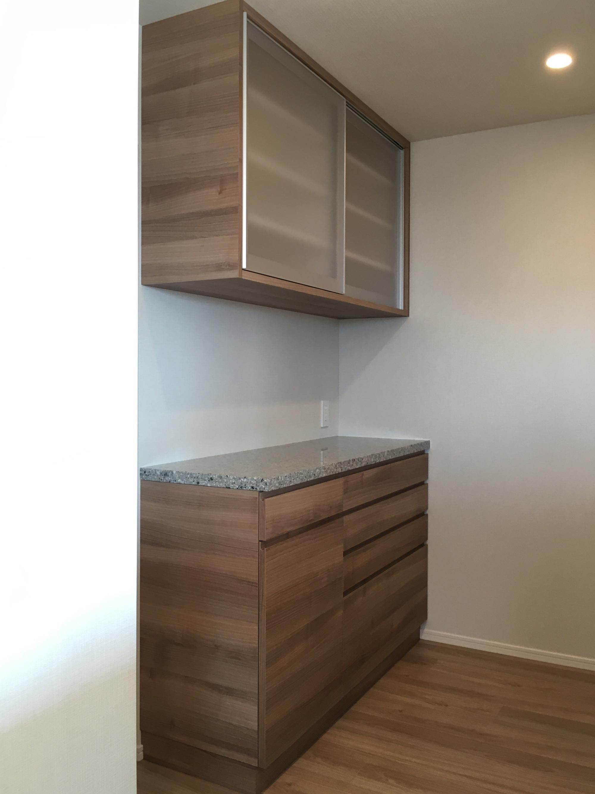 食器棚 オーダー家具 マンション オプション