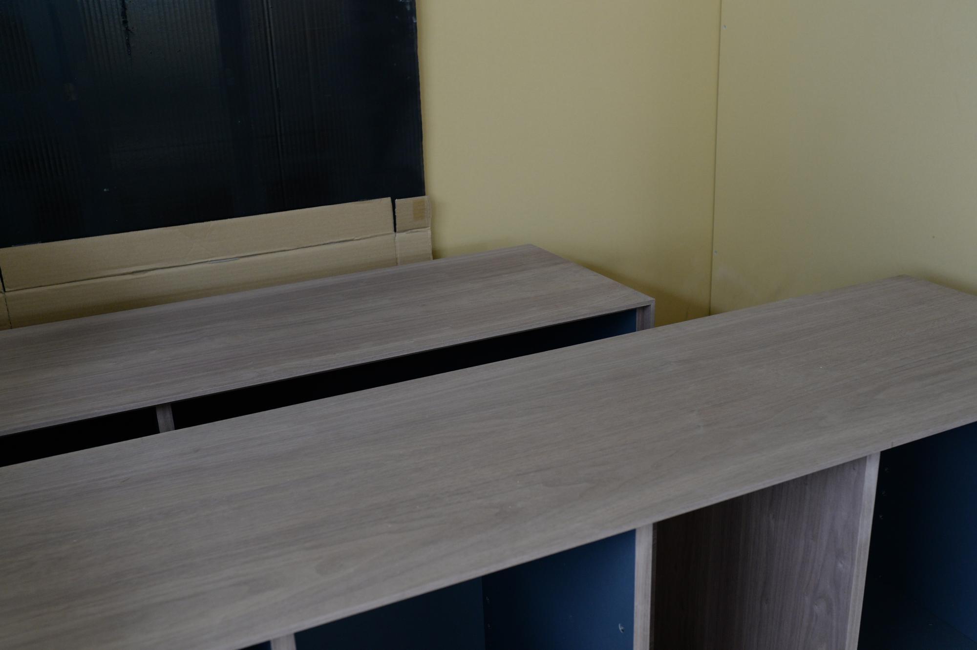 オーダー家具 ウォールナット リビングボード