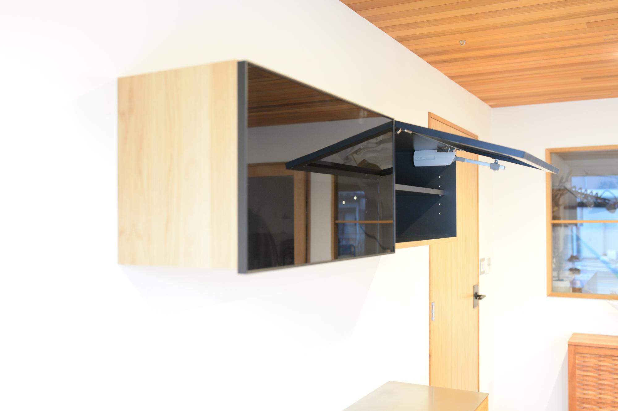 吊り戸棚 食器棚 オーダー家具