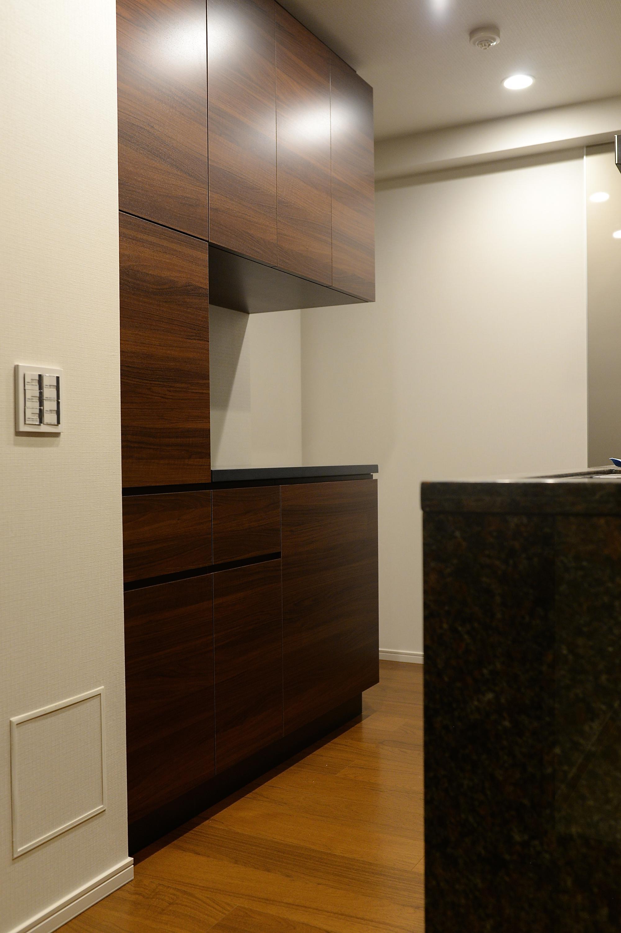 オーダー家具 食器棚 オプション家具