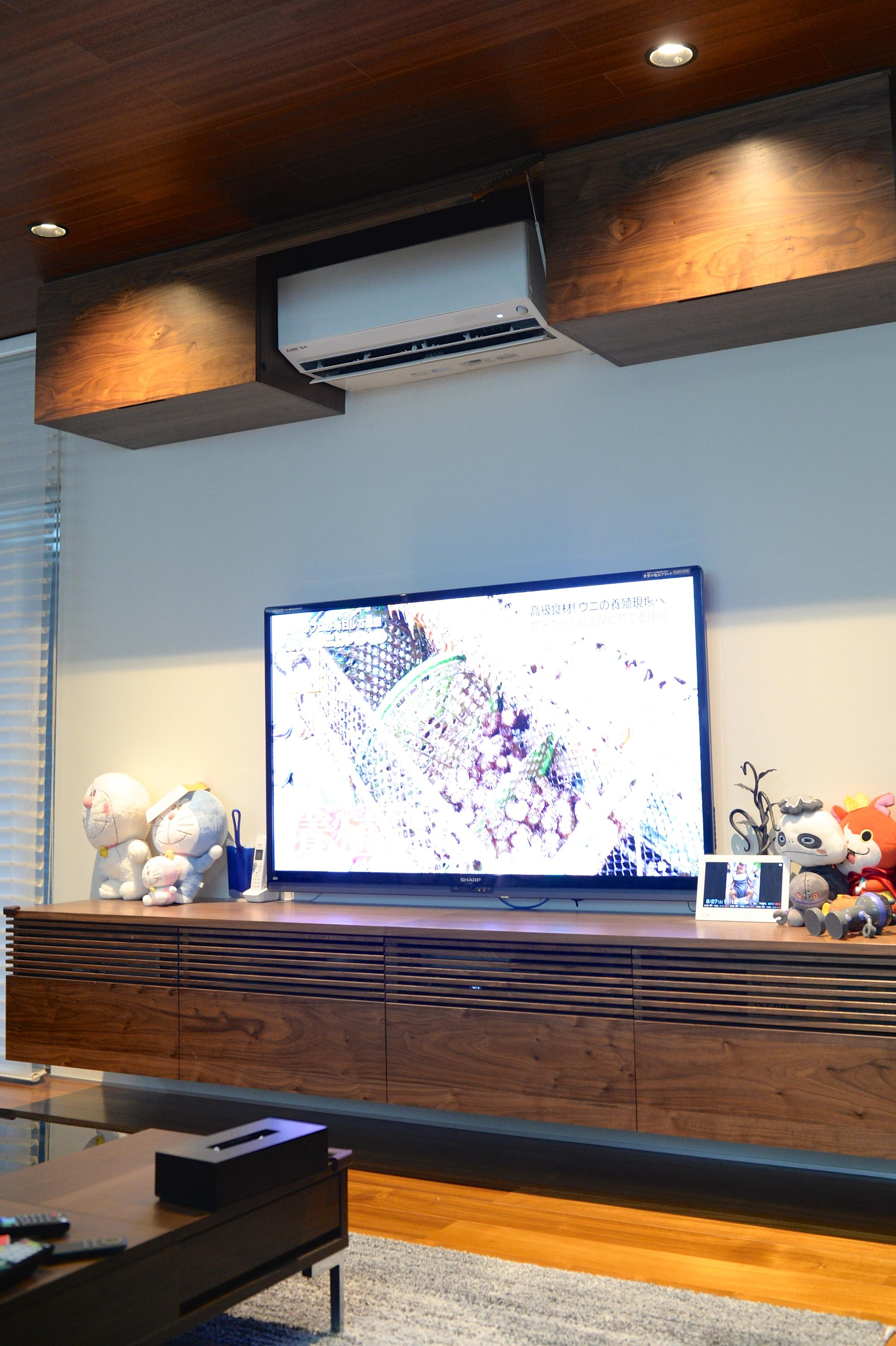 テレビボード ウォールナット オーダー家具