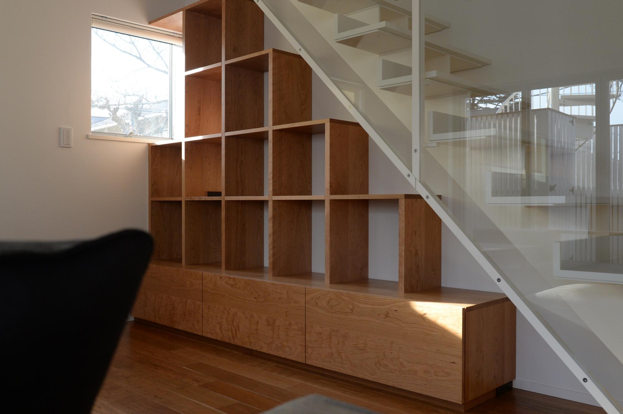 オーダー家具 東京 キャットウォーク 壁面収納