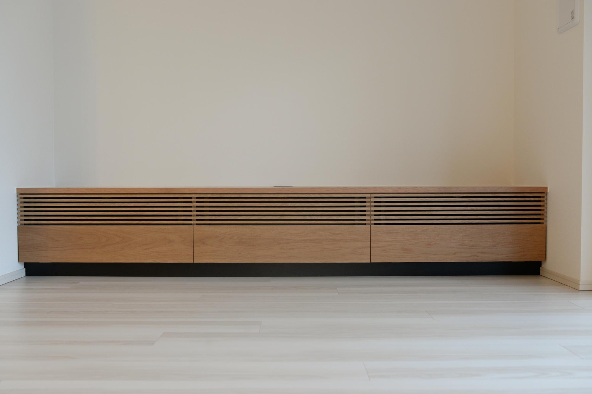 オーダー家具 東京 walden テレビボード ルーバー