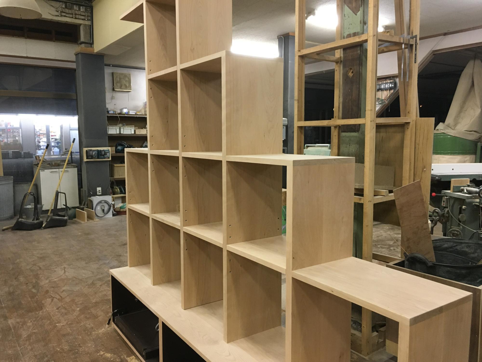 階段下収納 キャットウォーク オーダー家具