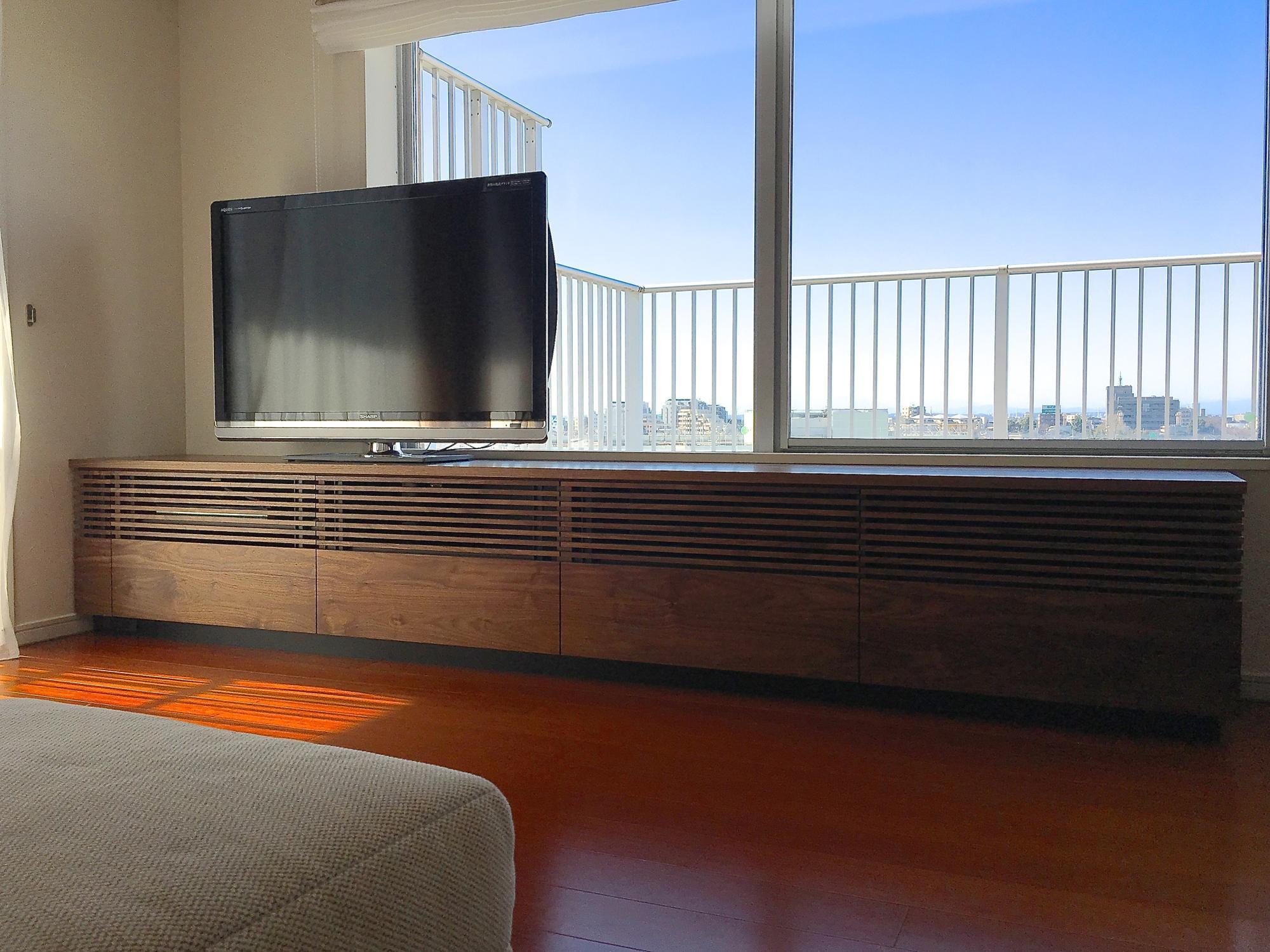 ルーバー テレビボード オーダー家具