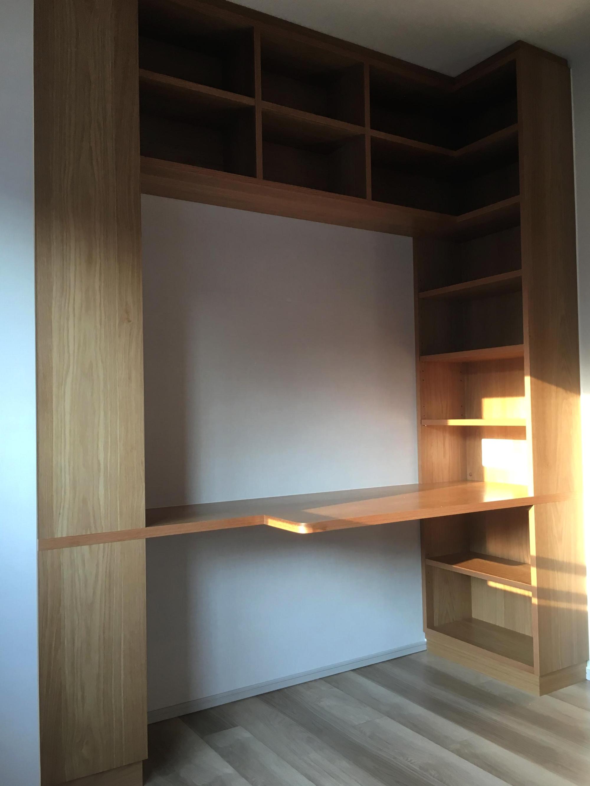 本棚デスク オーダー家具