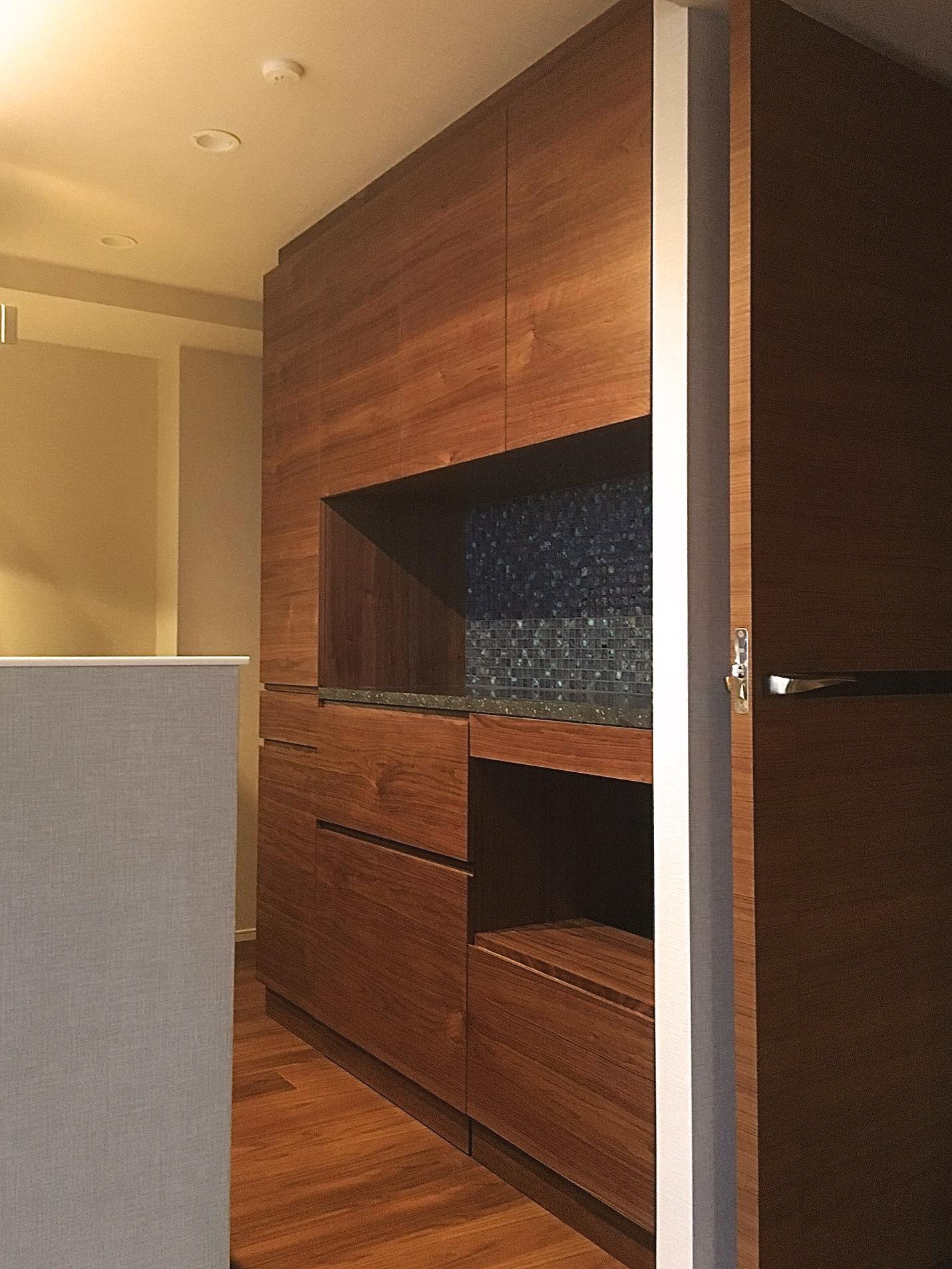 ウォールナット 食器棚 walden オーダー家具