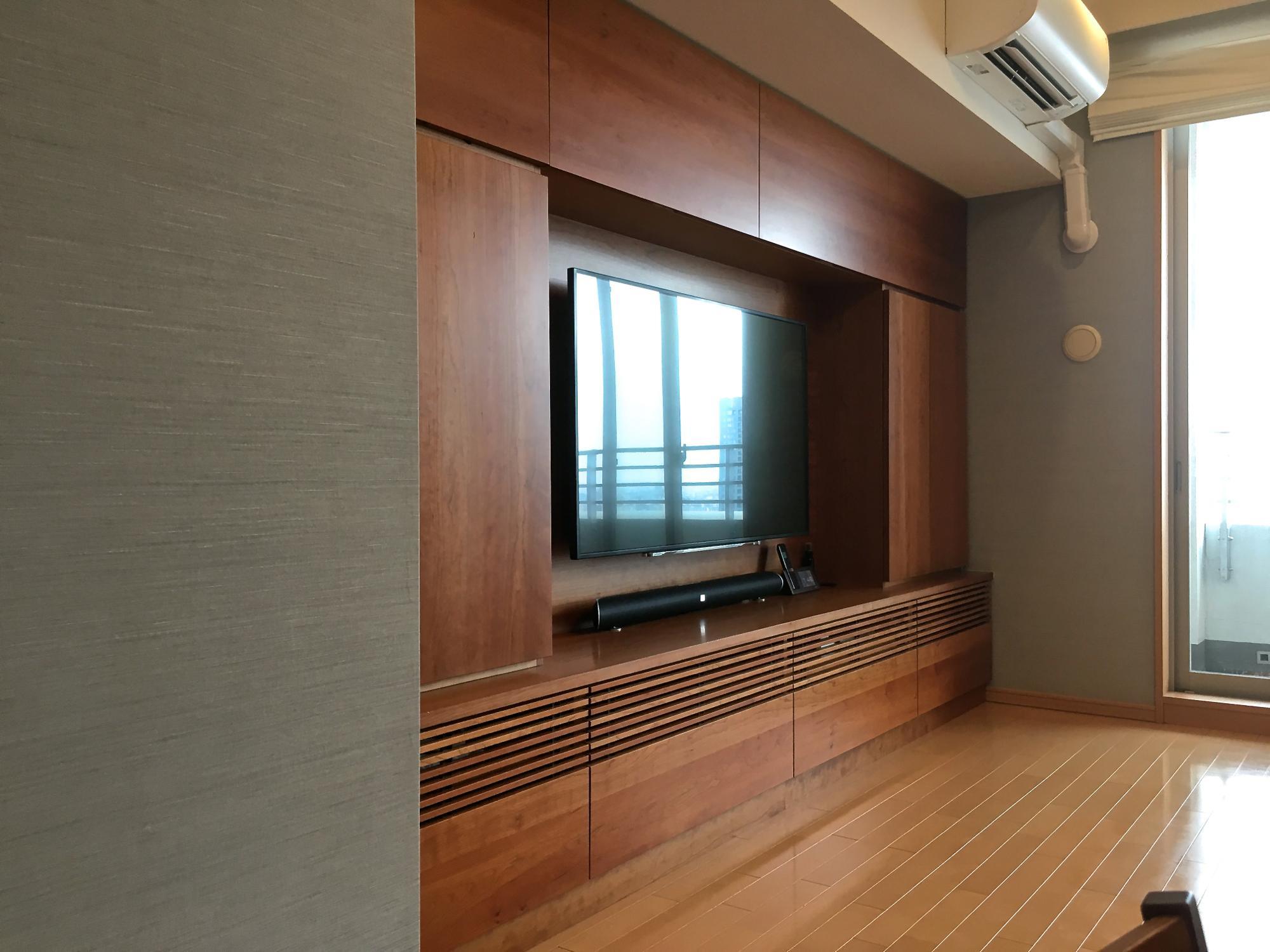 壁面収納 東京 オーダー家具