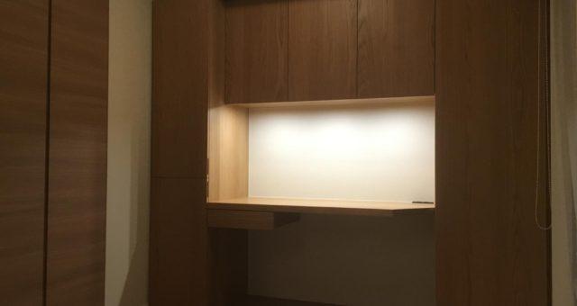 壁面収納の納品(新宿区O邸)