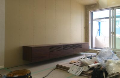 テレビボード(世田谷区K邸)