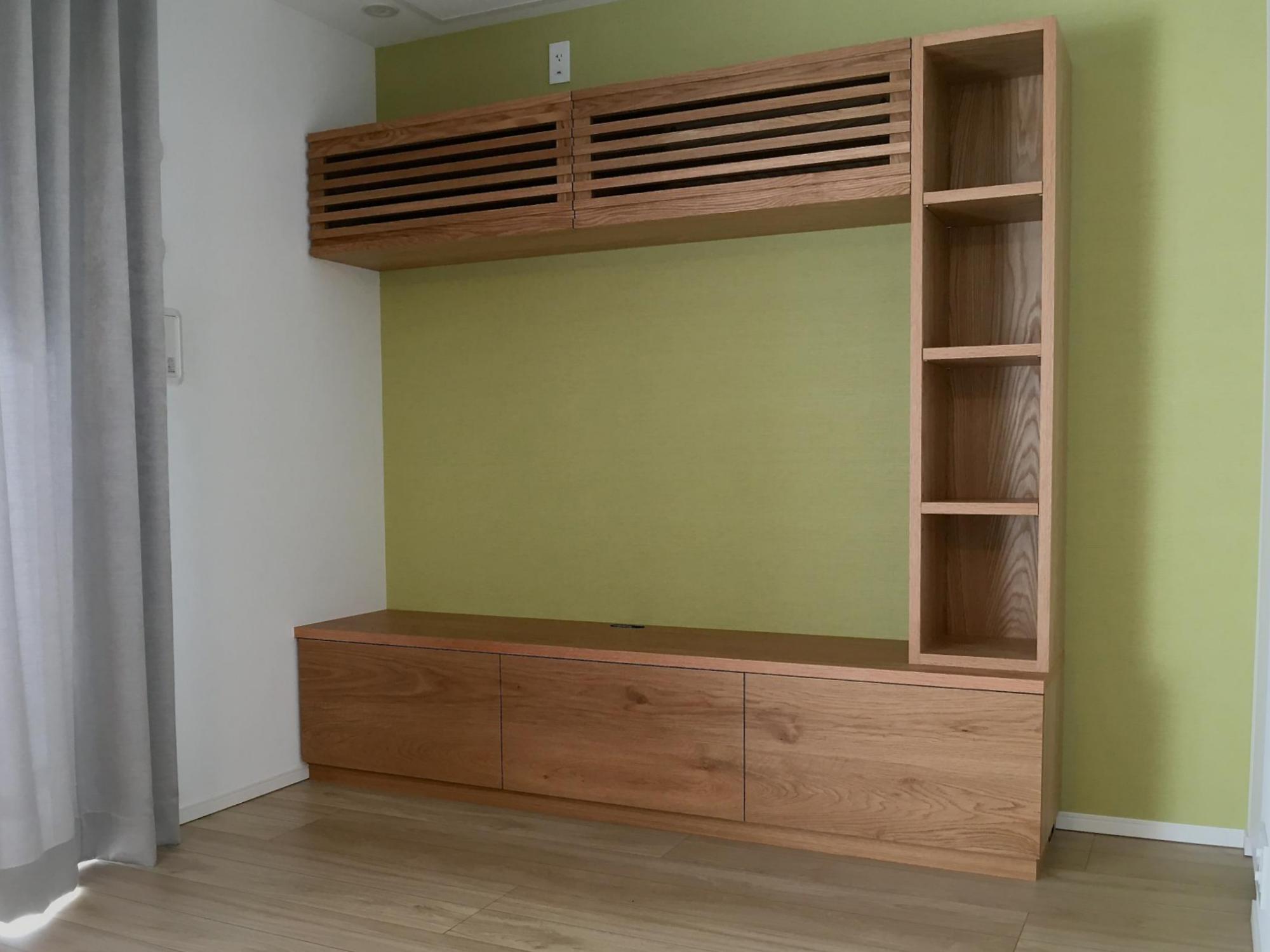 壁面収納 テレビボード
