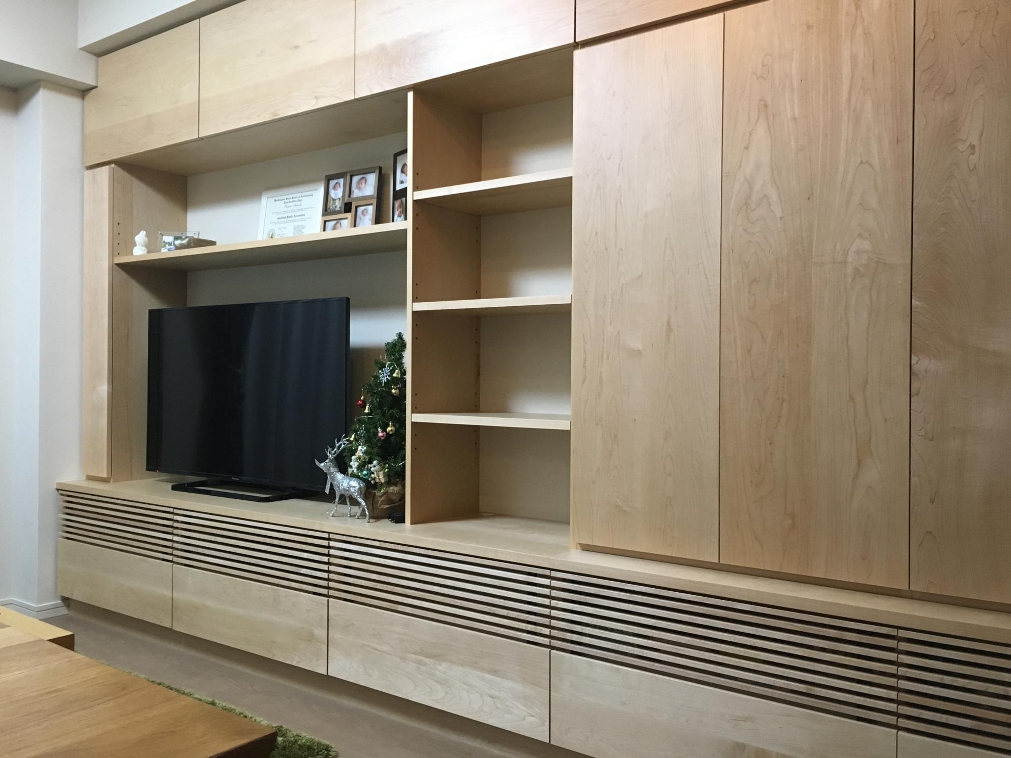 壁面収納 オーダー家具