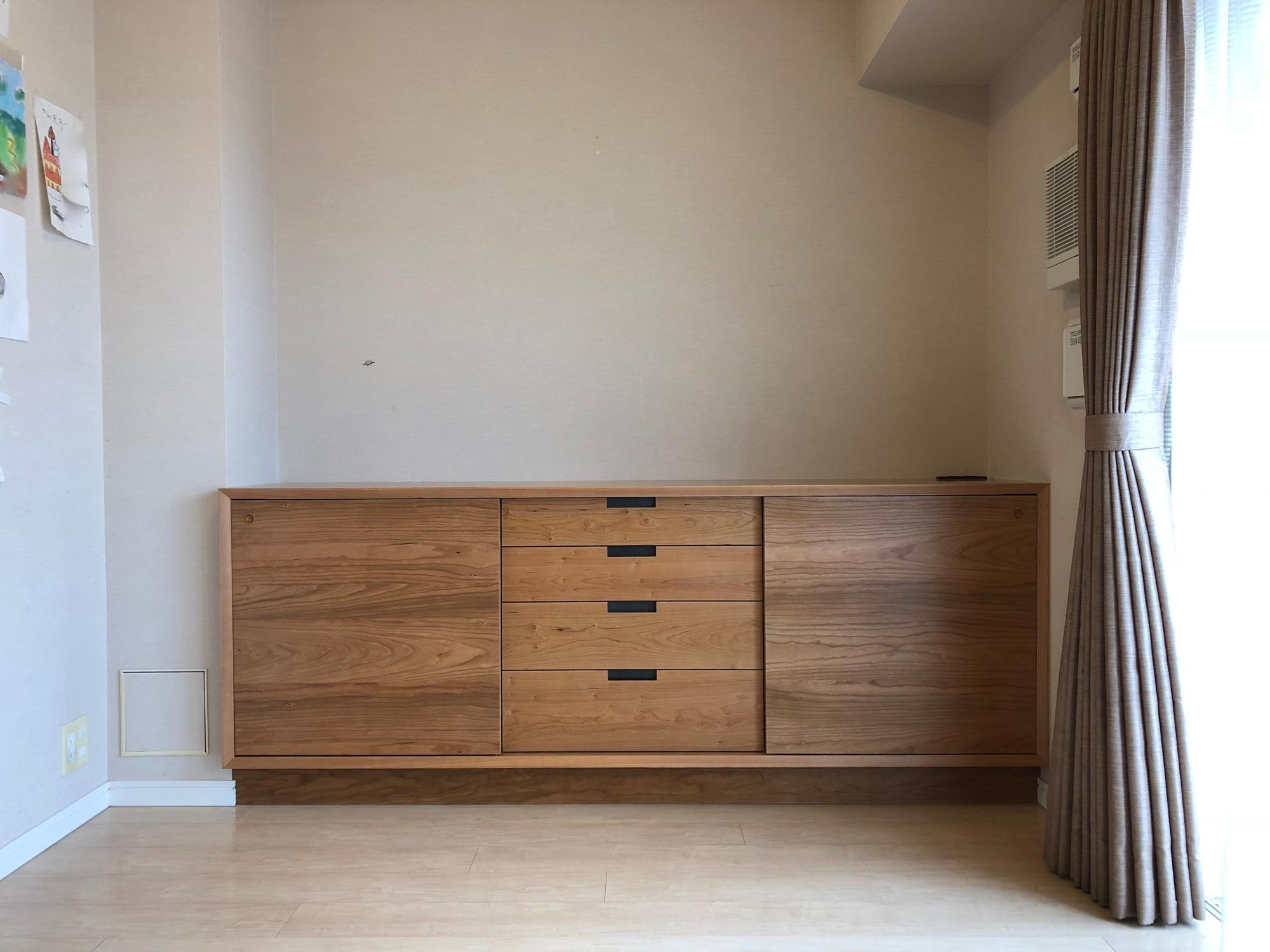 リビングボード オーダー家具