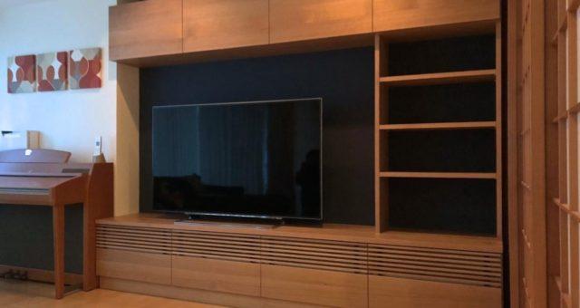 壁面収納の納品 横浜市O邸