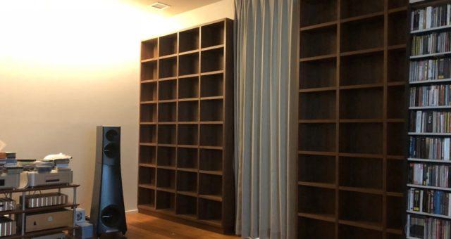 本棚とサイドボードの納品 港区Y邸