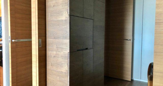 壁面収の納品 横浜市S邸