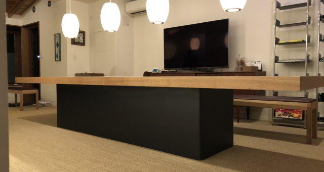 会議テーブルの納品 世田谷区B社