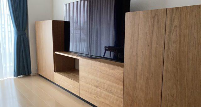 テレビボードの納品 新宿区Y邸