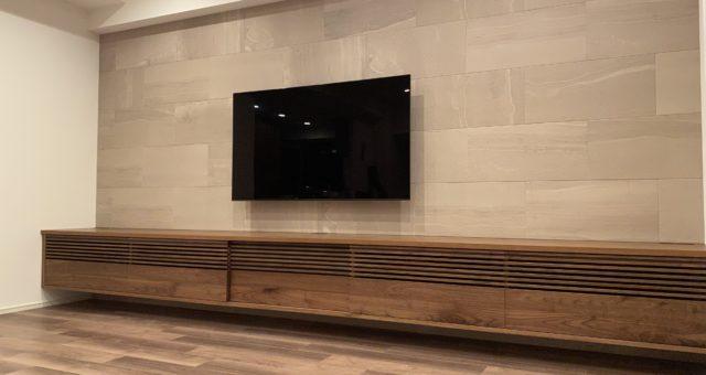 テレビボードの納品 板橋区N邸