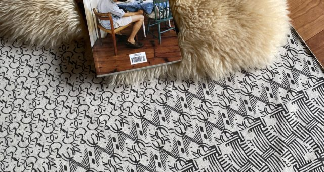 guse ars washed pattern rug